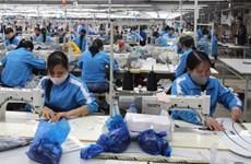 Vietnam's textile exports inch up 6.1 percent