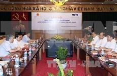 VNA, Bac Giang shake hands in communication work