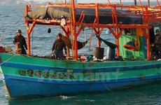 Embassy works to protect fishermen arrested by Thai navy