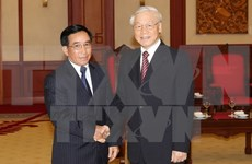 Party chief receives Lao Vice President