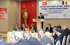 Vietnam, Romania strengthen economic ties