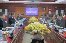 Lao Vice President visits Hai Duong