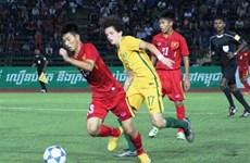 Vietnam lose to Australia in AFF final