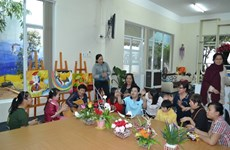 Handicapped children learn life skills
