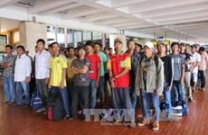 Indonesia returns 49 Vietnamese fishermen