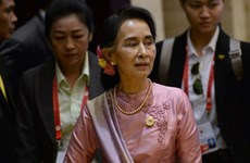 Myanmar State Counselor visits China