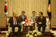 Vietnam Fatherland Front leader visits RoK