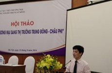 Vietnam promotes trade to Middle East, Africa
