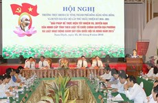 Deputies to People's Councils in the north convene conference