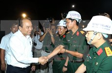 Prime Minister visits construction site of Ca Pass Tunnel