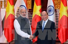Vietnam-India ties upgraded to comprehensive strategic partnership