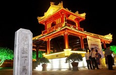 Hue pavilion gets facelift