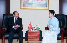 Vietnam, Myanmar treasure bilateral ties
