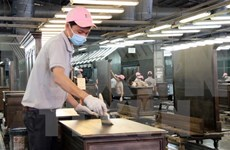 Wood product exports drop in eight months