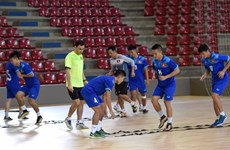 Vietnam aim for one point in clash with Italy in Futsal WC