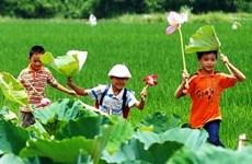 Children's love of the environment nurtured