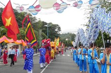 Crowds attend whale worshipping festival in Vung Tau