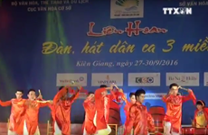 Folk music festival in Kien Giang