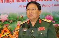 Defence minister hosts Thai, Singaporean ambassadors