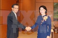 NA Chairwoman bids farewell to Japanese Ambassador
