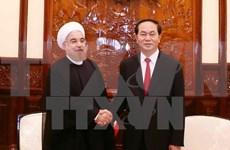 VN, Iran issue joint statement on Iran President's visit