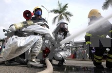 Radiation accident response drill held in Da Nang