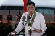 Philippine President to continue crackdown on drug crime