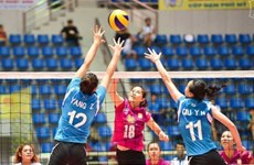 First Vietnamese plays at volleyball world cup