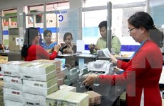 Reference exchange rate sinks 6 VND