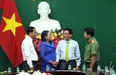 Cambodia's Kampong Speu offers Tet greetings to Vinh Long province