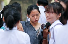 Vietnamese students take National High School Exam