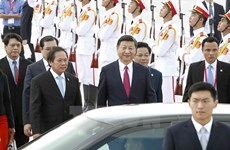 More leaders from APEC economies arrive in Da Nang