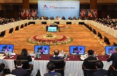 13th ASEM Foreign Ministers' Meeting opens in Myanmar