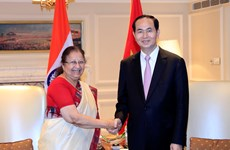 Vietnamese President calls for stronger ties with India