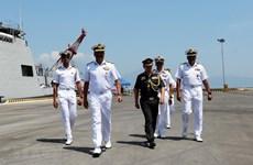 Indian naval ships visit Da Nang city
