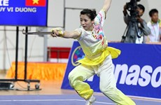 Wushu brings Vietnam one silver, one bronze