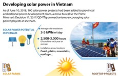 Developing solar power in Vietnam