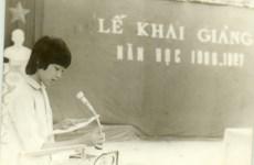 School opening ceremonies in years gone by
