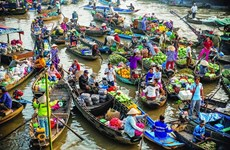 Cai Rang floating market upgrade to be completed next year