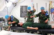 Vietnam's field hospital serves peacekeeping mission in South Sudan
