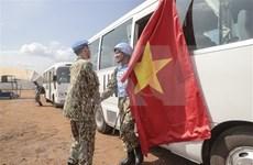 Vietnam peacekeepers arrive in South Sudan