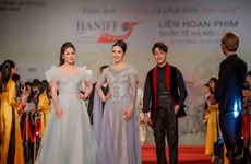 Vietnamese celebs shine at 5th Hanoi International Film Festival