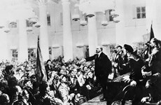 Looking back to Russian October Revolution