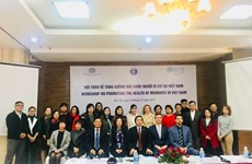 Workshop discusses migrants' health in Vietnam