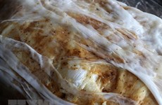 Mao Dien rolled rice pancake – special treat for visitors to Bac Ninh