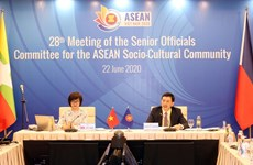 Senior Officials' Committee for ASEAN Socio-Cultural Community holds 28th meeting