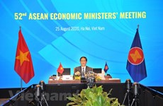 ASEAN ministers talk realisation of economic initiatives, COVID-19 response