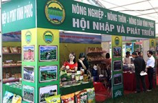 Vinh Phuc bolsters agriculture trade