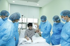 Double forearm transplant: New miracle of Vietnam's health sector