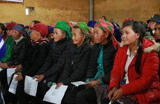 UN Women supports ethnic women in Lao Cai